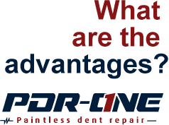 Advantages- Paint less dent repair San Bernardino CA