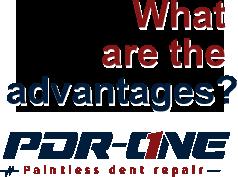 Advantages- Paint less dent repair San Bernardino CA